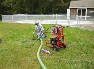all clear septic, septic system cleaning and pumping